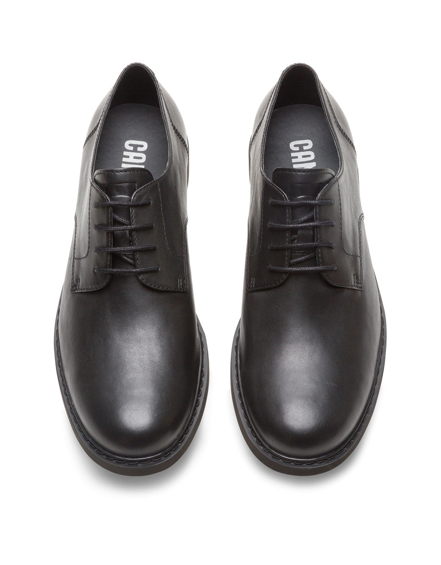 Camper Men's Neuman in Black Blucher Camper