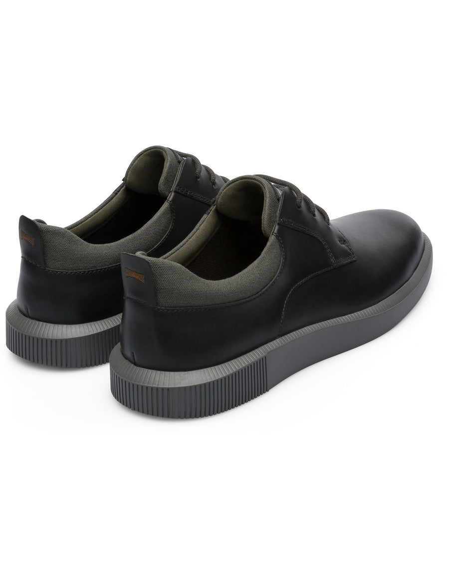 Camper Men's Bill in Black Lace Up Shoe Camper