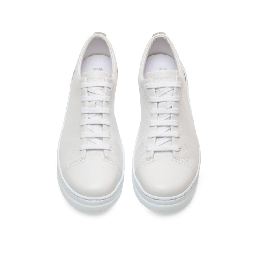 Camper Women's Runner Up in White Natural Sneakers Camper