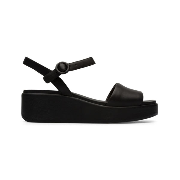 Camper Women's Misia in Black Sandals Camper 36