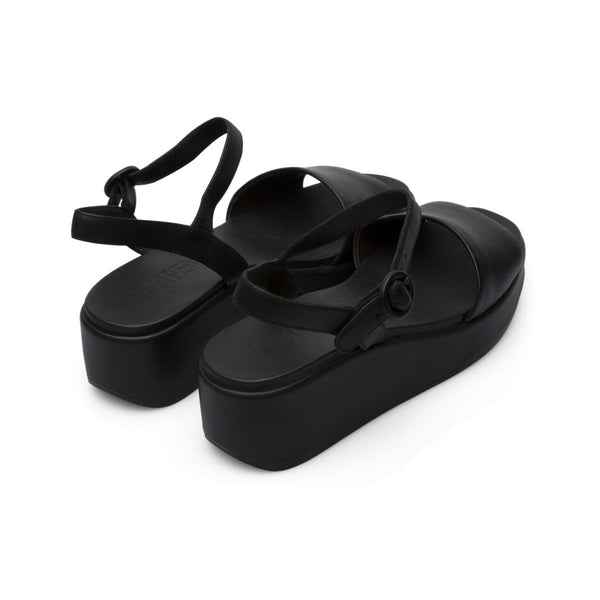 Camper Women's Misia in Black Sandals Camper