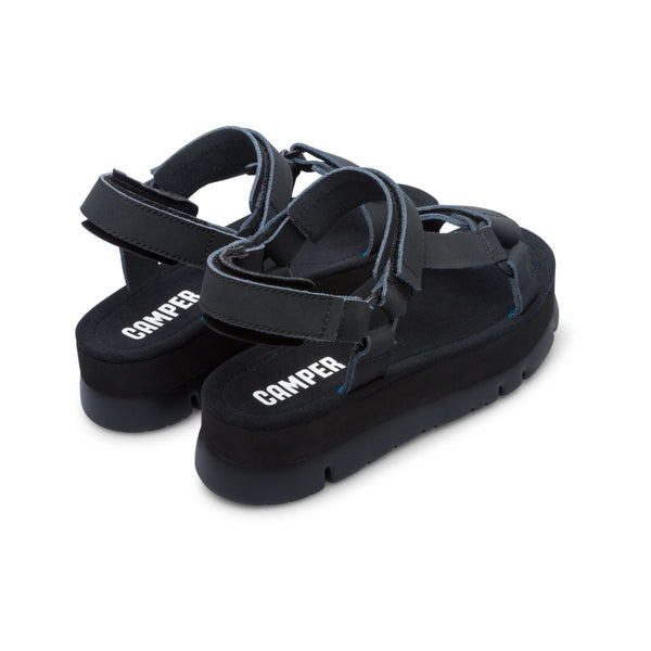 Camper Women's Oruga Up in Black Sandals Camper