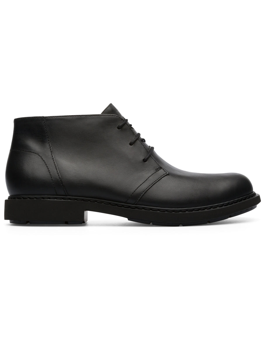 Camper Men's Neuman in Black Desert Boot Camper 41