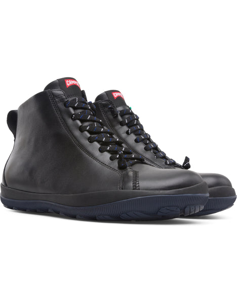 Camper Men's Peu Pista GM in Black Men's Boots CAMPER 42