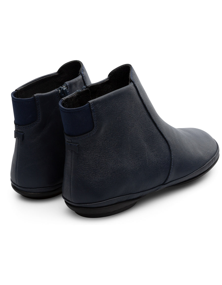 Camper Women's Right Nina in Navy Chelsea Bootie Camper