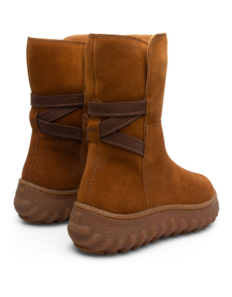 Camper Women's Ground in Medium Brown Medium Boot Camper