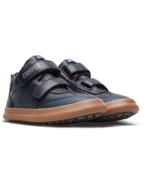 Camper Kids Pursuit in Navy Kids Sneakers CAMPER