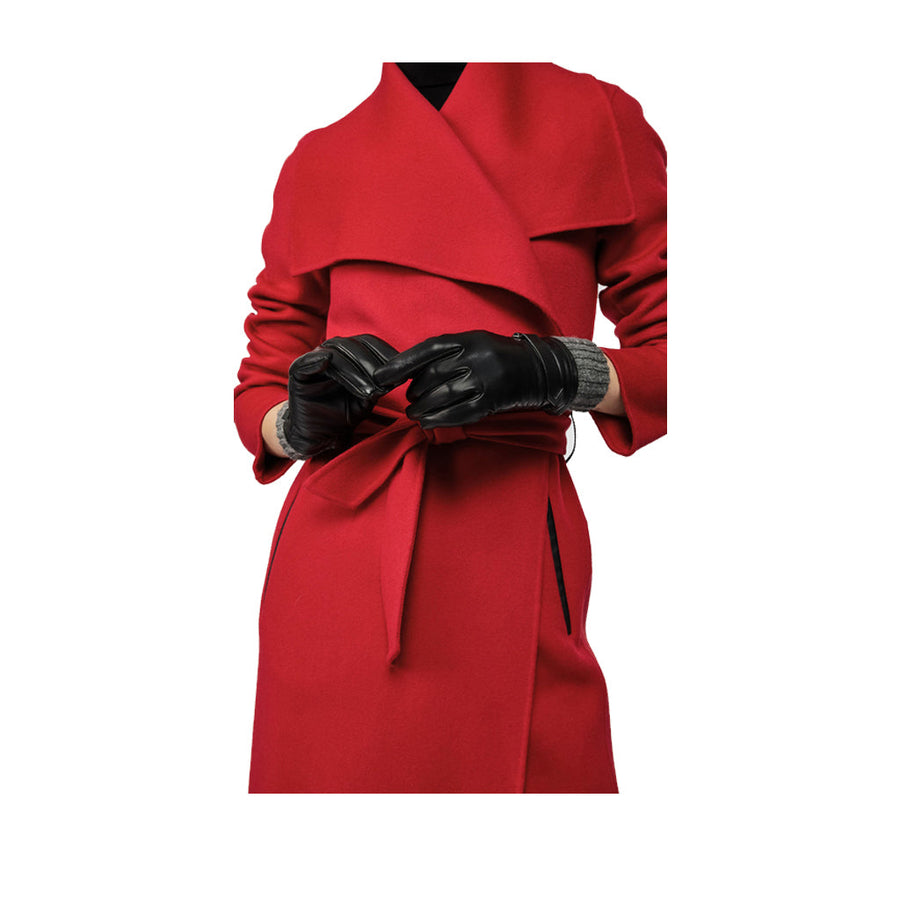Mackage Fia in Black Women's Gloves MACKAGE