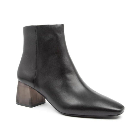 Django And Juliette Women's Mockas Ankle Boot in Black-Black Heel, 41 EU Boots Django And Juliette 41