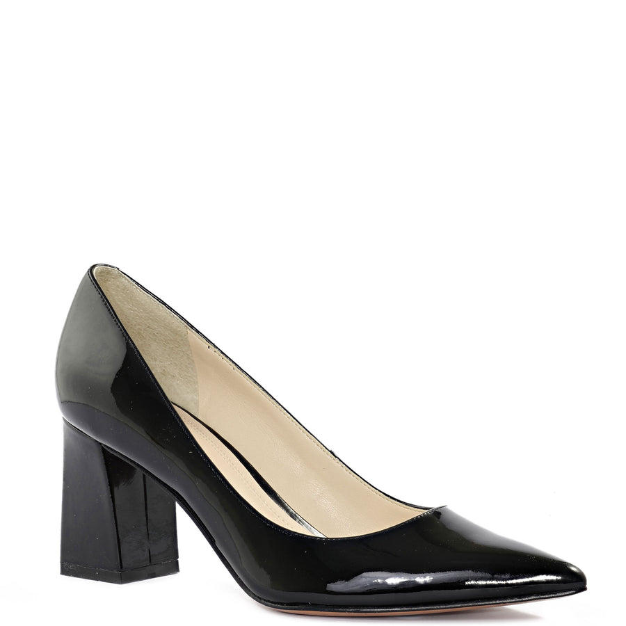 Marc Fisher Women's Zala Pumps in Black Pat Heels MARC FISHER