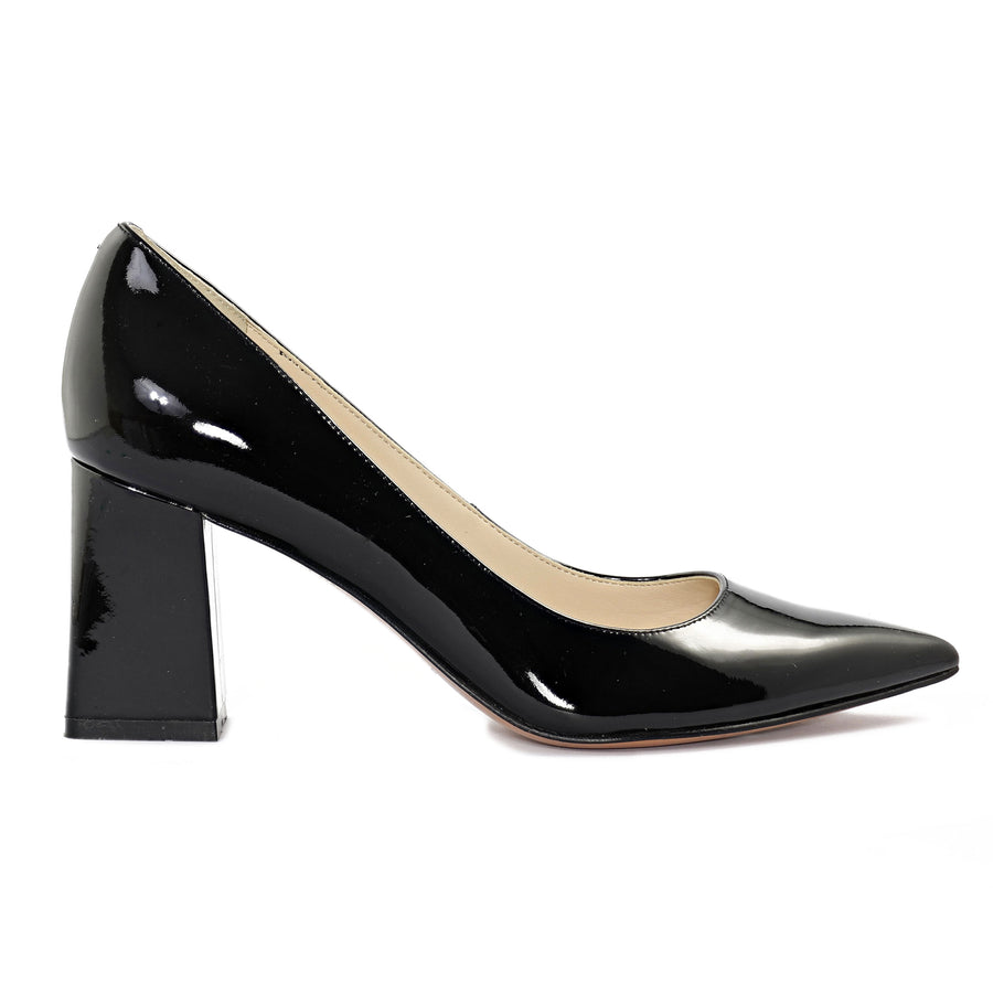 Marc Fisher Women's Zala Pumps in Black Pat Heels MARC FISHER 5.5