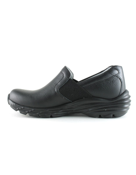 Nurse Mates Women's Harmony Shoe in Black (Wide) Flats Nursemates
