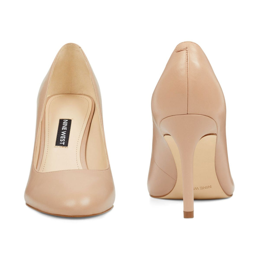 Nine West Women's Dylan Pumps in Nude Heels NINE WEST