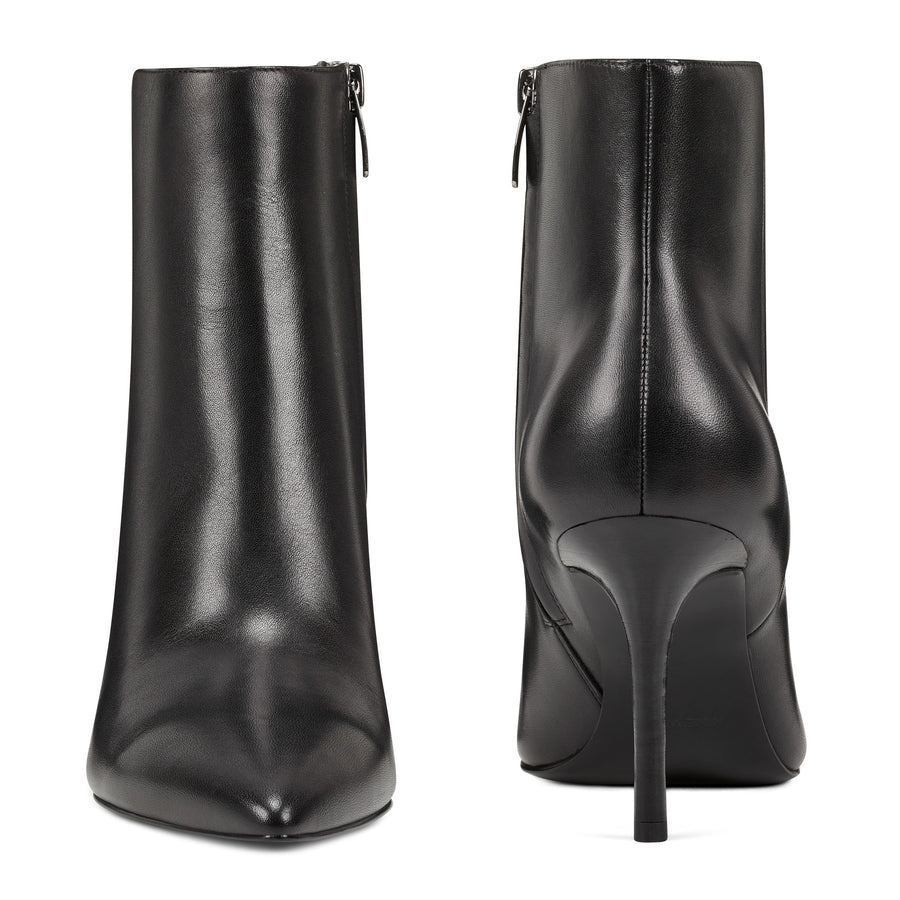 Nine West Women's Fhayla Booties in Blk Boots NINE WEST