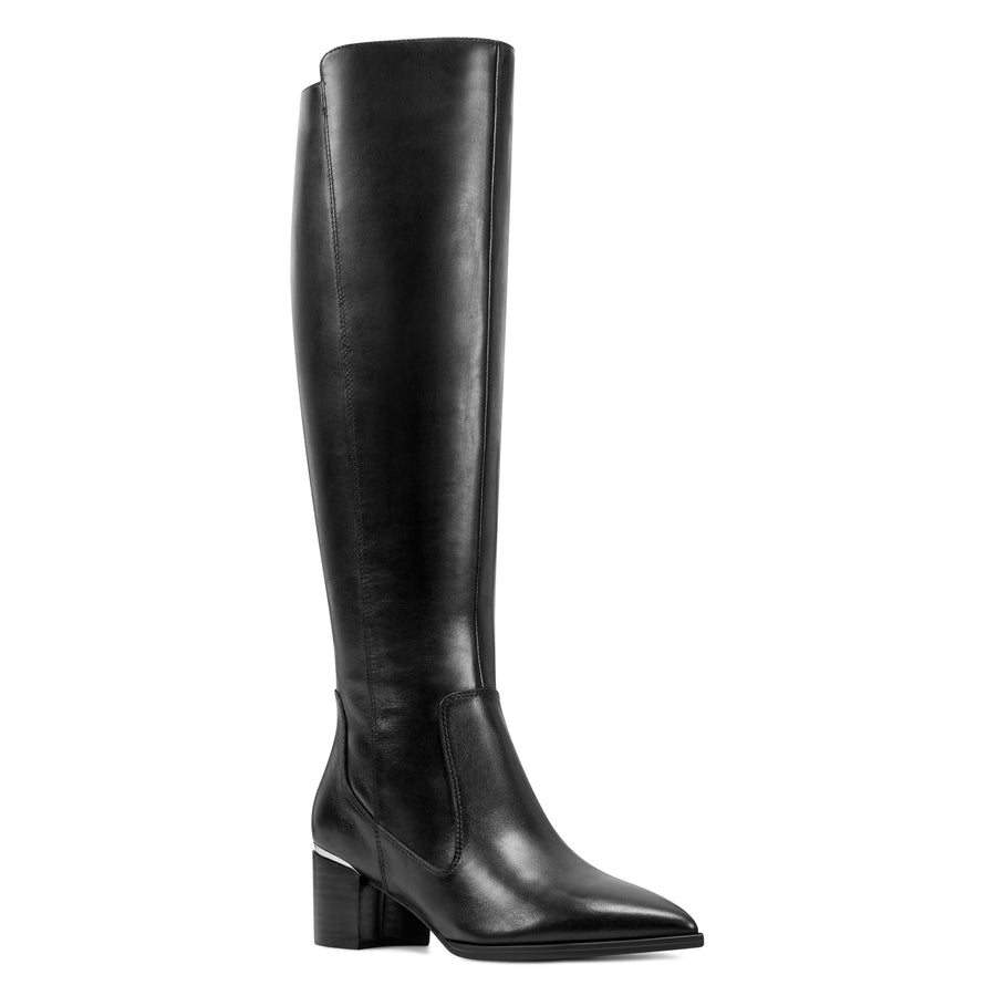 Nine West Women's Hartley Boots in Blk Boots NINE WEST