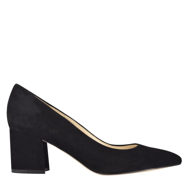 Nine West Women's Tves8 in Black Heels Nine West 5