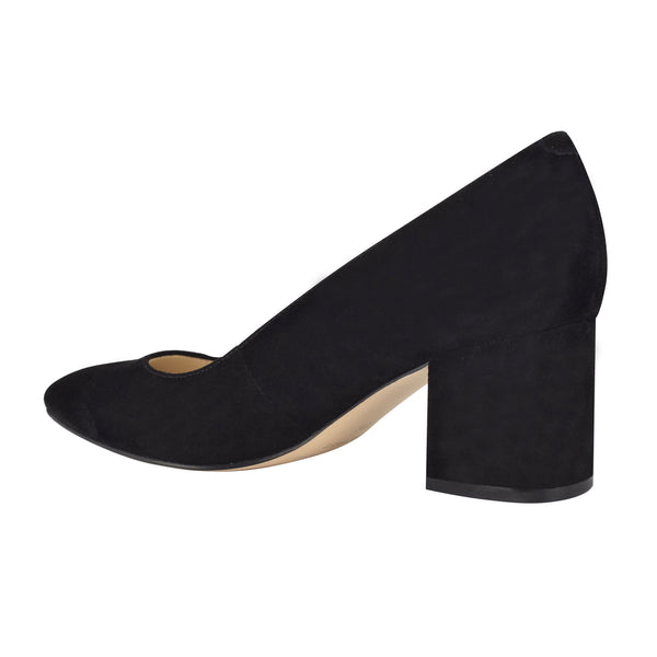 Nine West Women's Tves8 in Black Heels Nine West