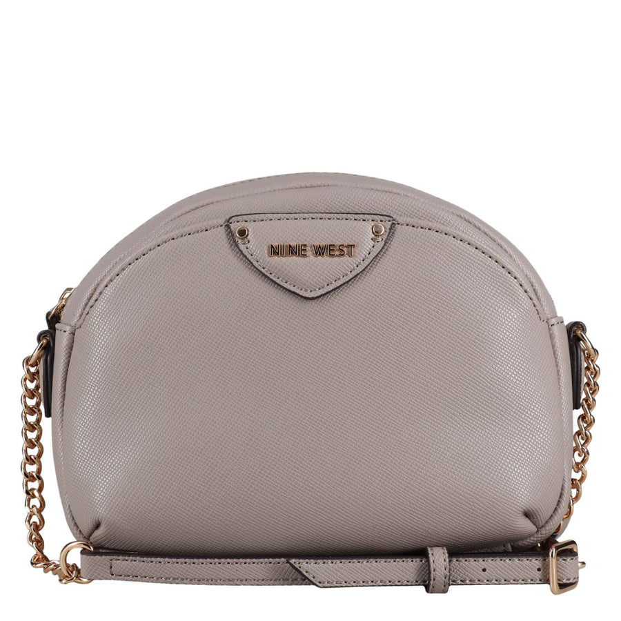 Nine West Handbags Payton Mini Crossbody in Grey Crossbody Bags Nine West Handbags One Size