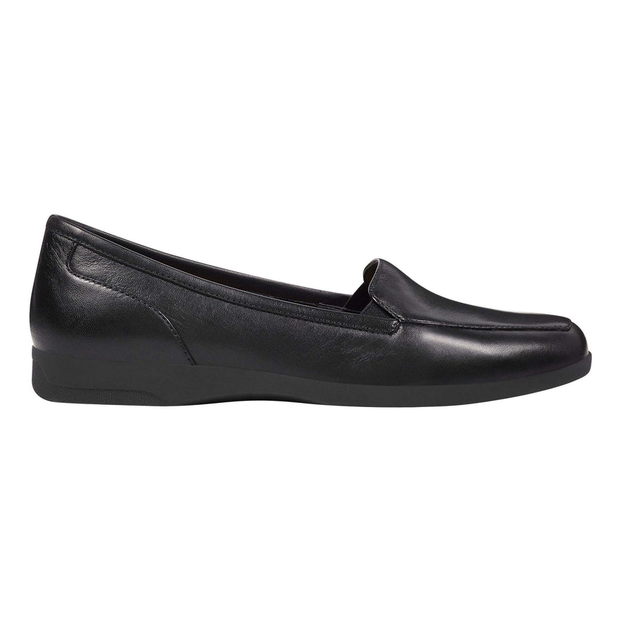 Easy Spirit Women's Devitt Flats in Black Flats Easy Spirit 5.5