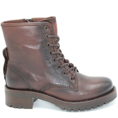 Miz Mooz Women's Pomeroy Boot in Brown Antique Boots MIZ MOOZ 36