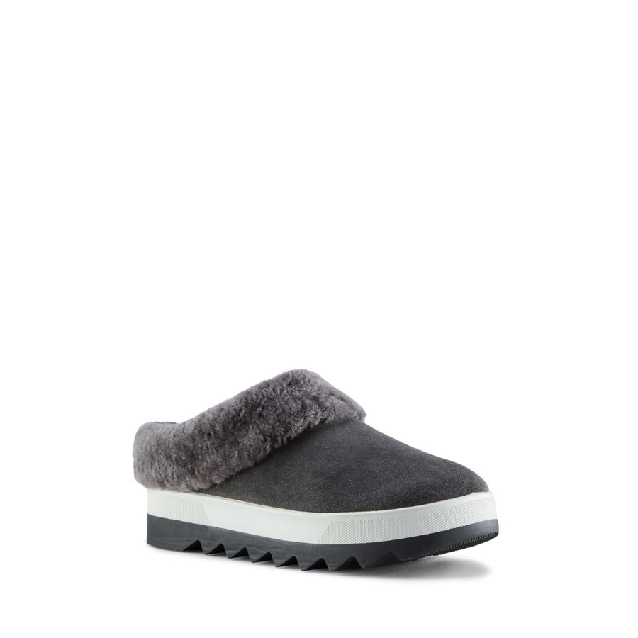Cougar Women's Pronya in Pewter Slippers COUGAR