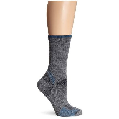 Goodhew Men's Quest Crew Socks in Grey Socks Goodhew M/L