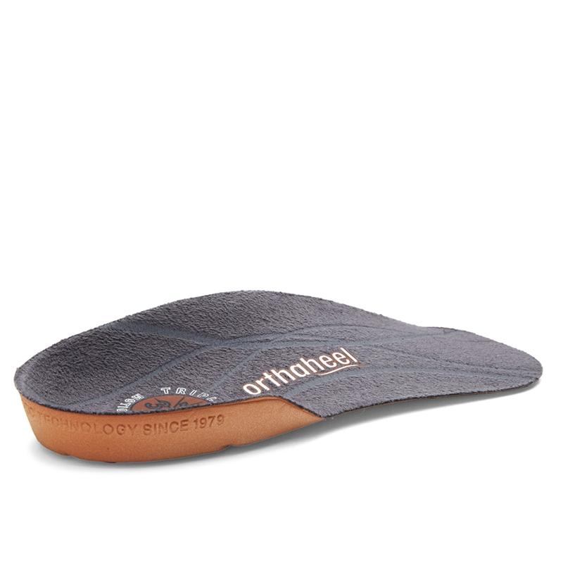 Vionic Unisex Relief 3/4 Orthotic In Grey Insoles Vionic XL