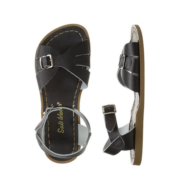 Salt Water Women's Classic in Black Sandals SALT WATERS