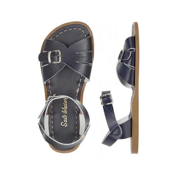 Salt Water Women's Classic in Navy Blue Sandals SALT WATERS