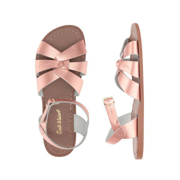 Salt Water Women's Original Sandal in Rose Gold