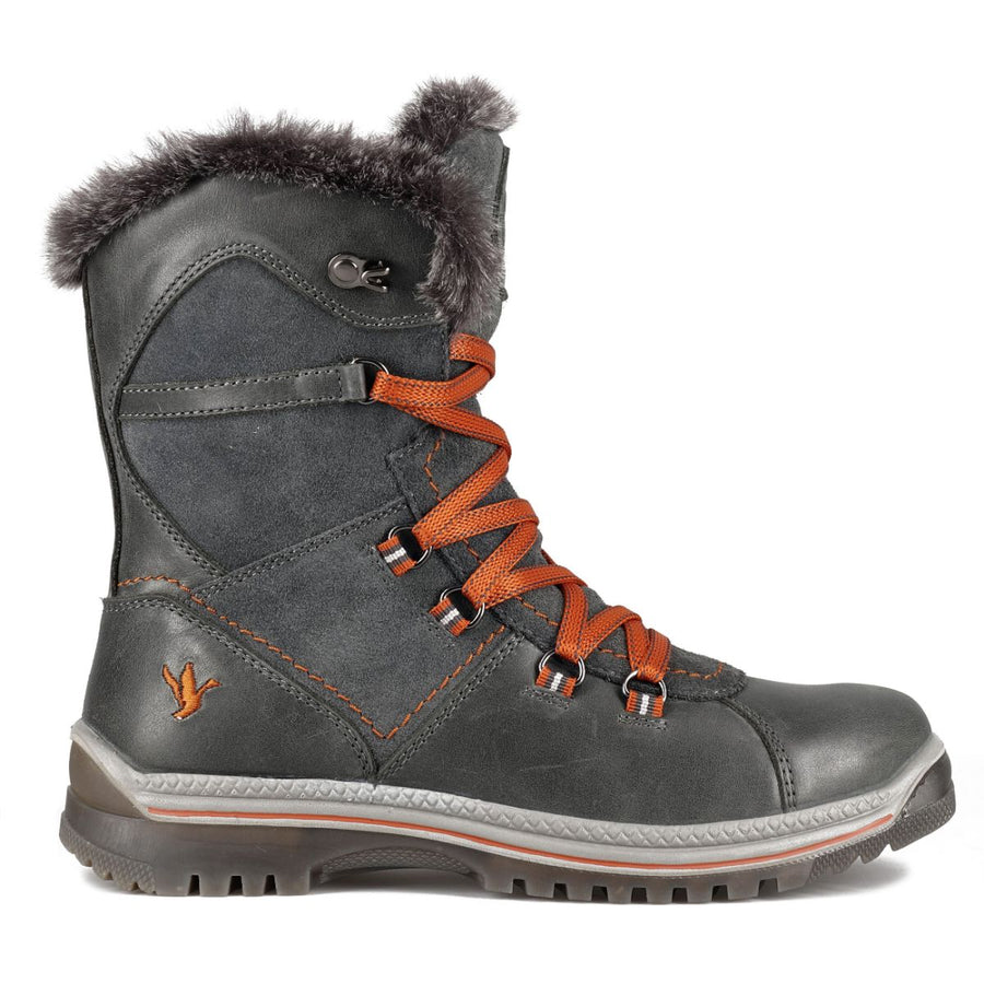 Santana Canada Women's MajestaLuxe Winter Boots in Grey Rust Winter Boots Santana Canada 11