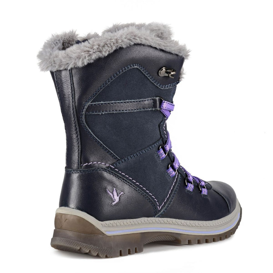 Santana Canada Women's MajestaLuxe Winter Boots in Navy Violet Winter Boots Santana Canada