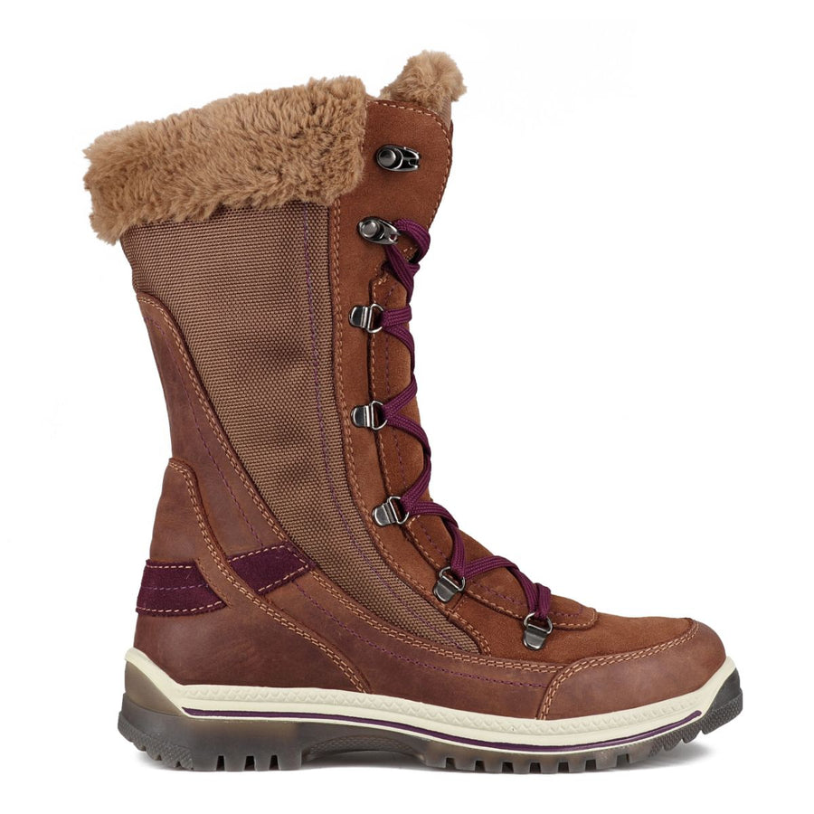 Santana Canada Women's Micah Winter Boots in Coffee/Eggplant Winter Boots Santana Canada 6