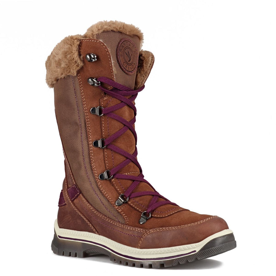 Santana Canada Women's Micah Winter Boots in Coffee/Eggplant Winter Boots Santana Canada