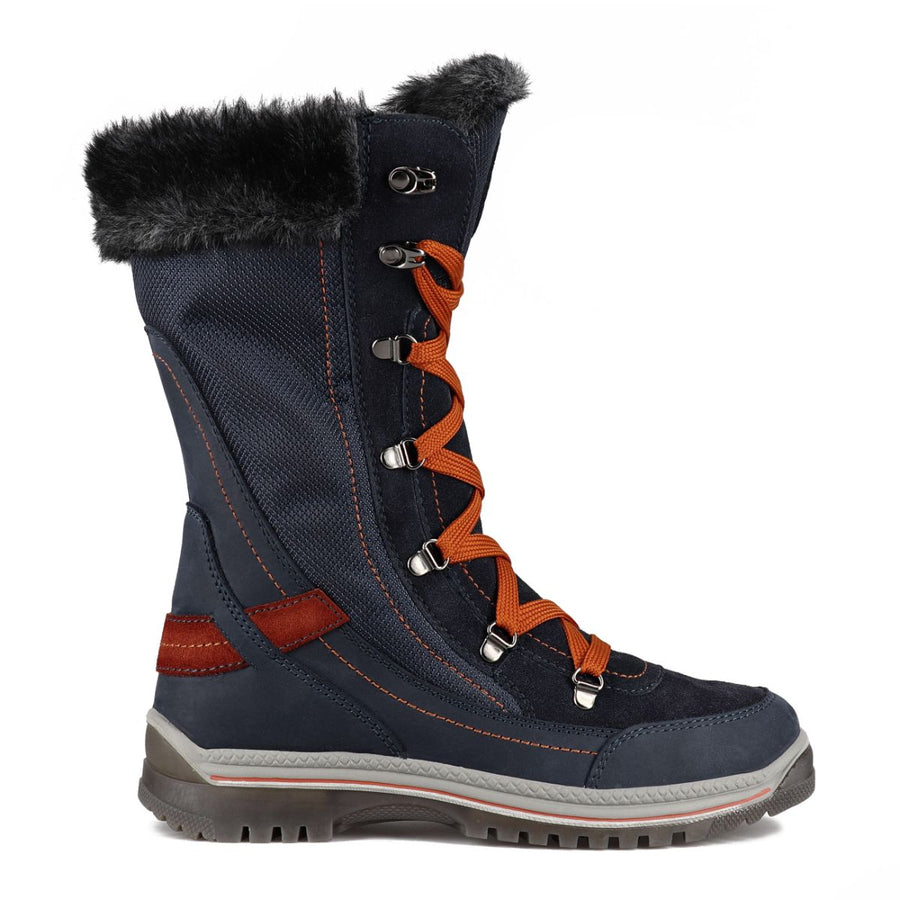 Santana Canada Women's Micah Winter Boots in Navy Rust Winter Boots Santana Canada 6
