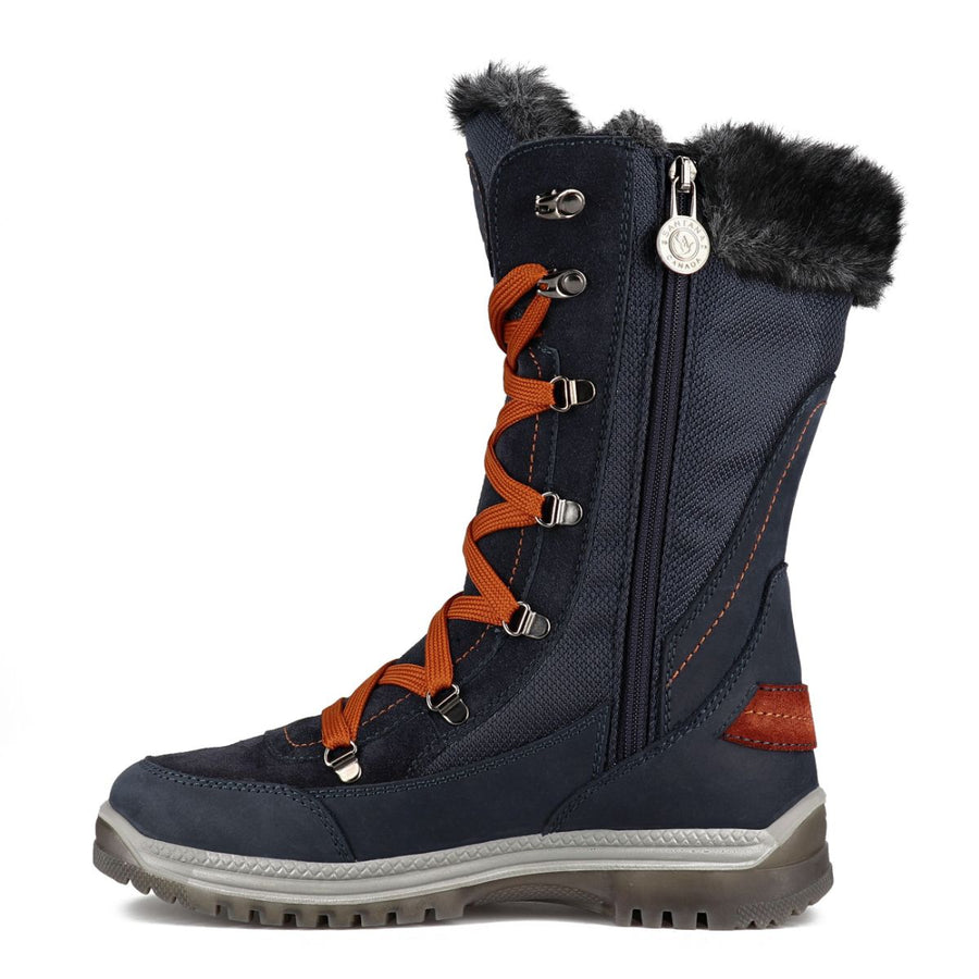 Santana Canada Women's Micah Winter Boots in Navy Rust Winter Boots Santana Canada