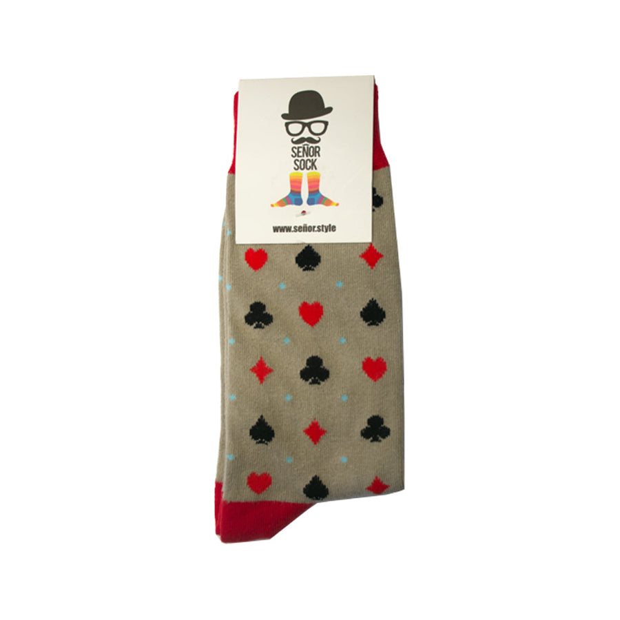 Señor Sock The Lucky Suits Men's Socks SENOR SOCKS OS