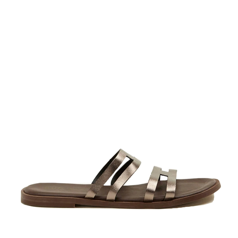 Sister X Soeur Women's Brooklyn in Pewter Sandals SISTER X SOEUR 36