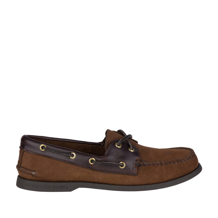 Sperry Men's A/O 2-Eye Boat Shoe in Brown Men's Casual Shoes Sperry 8.5