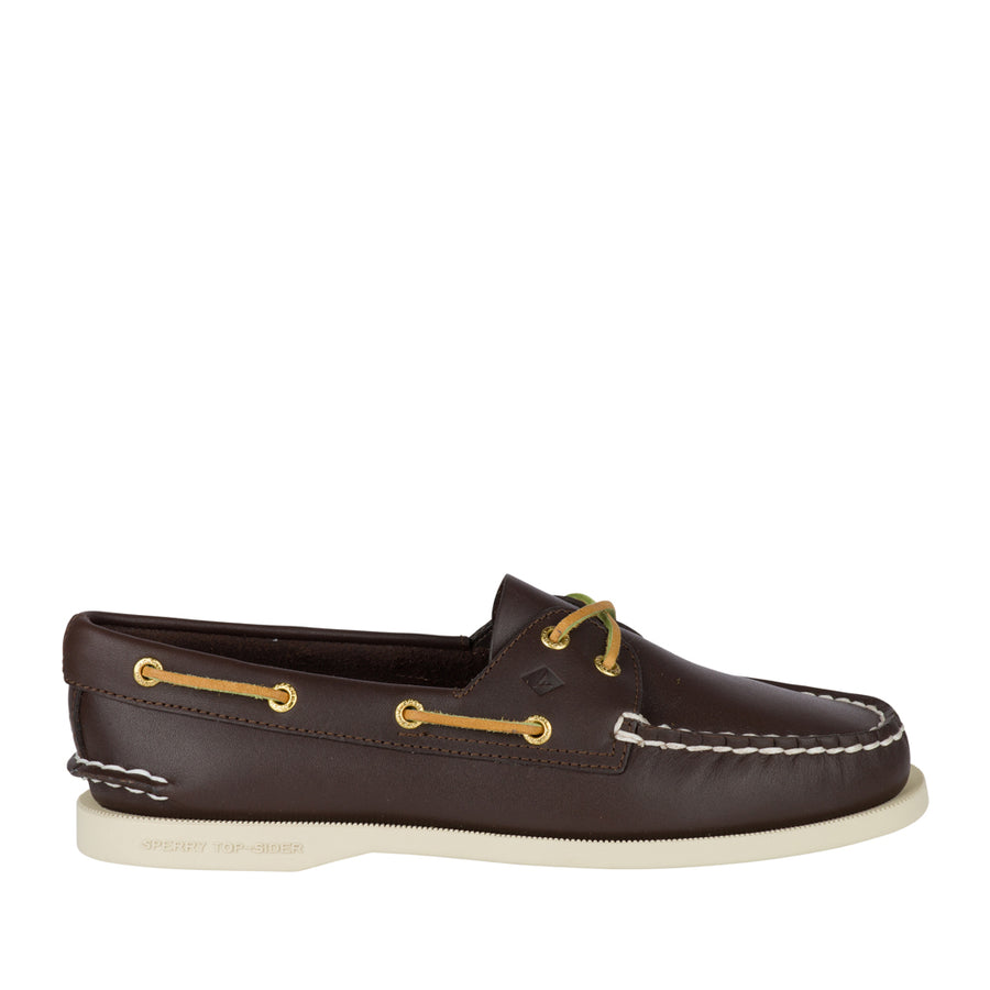 Sperry Women's A/O 2-Eye Boat Shoe in Brown Flats Sperry 5