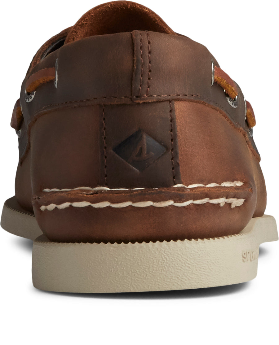 Sperry Men's A/O 2-Eye Leather in Sonora/Riverboat Casual Shoes Sperry