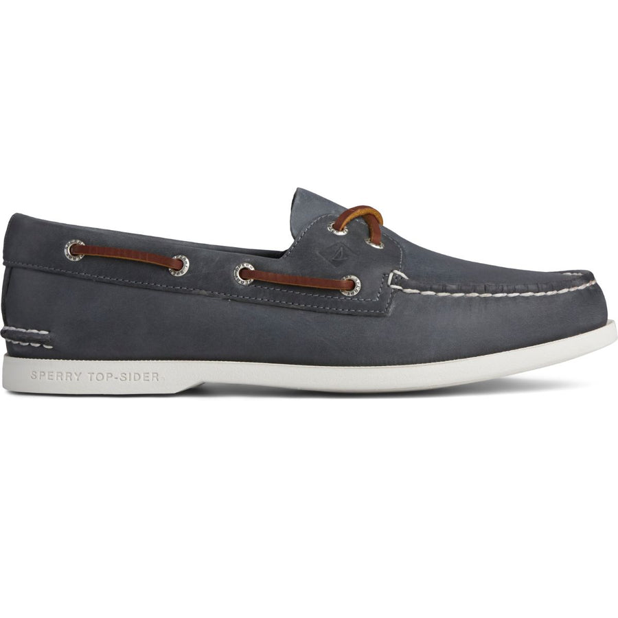 Sperry Men's A/O 2-Eye Plushwave in Navy Casual Shoes Sperry 11