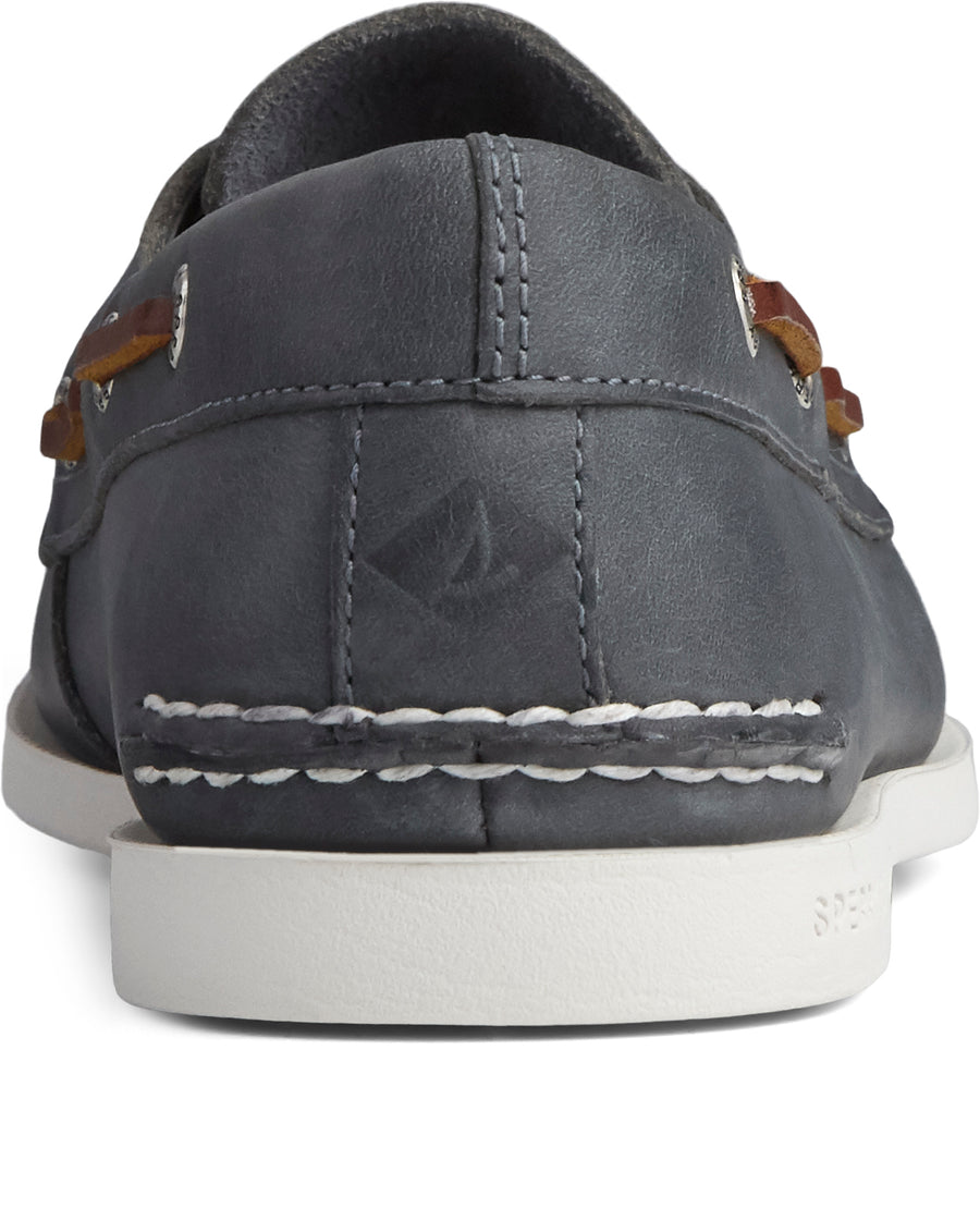 Sperry Men's A/O 2-Eye Plushwave in Navy Casual Shoes Sperry