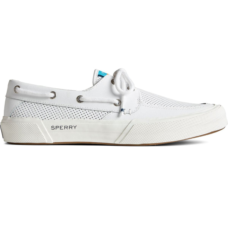 Sperry Men's Soletide 2-Eye in White Men's Sneakers Sperry 7