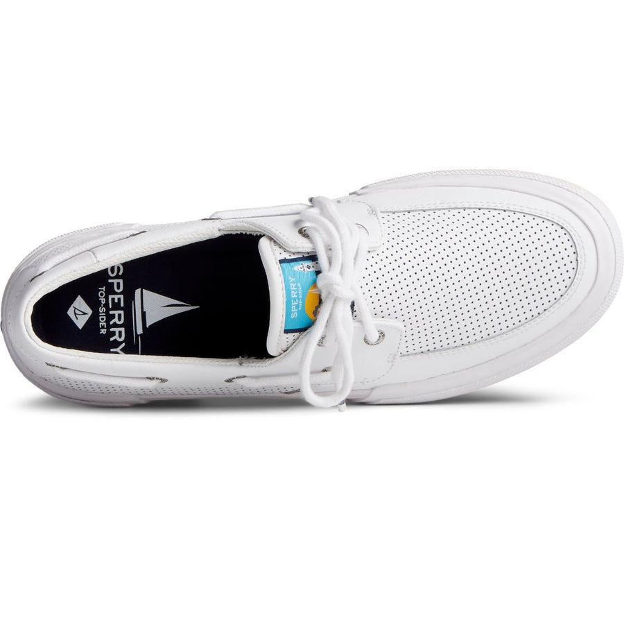 Sperry Men's Soletide 2-Eye in White Men's Sneakers Sperry