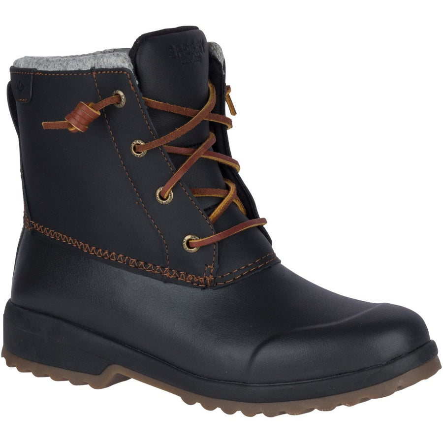 Sperry Women's Maritime Repel in Black Winter Boots Sperry