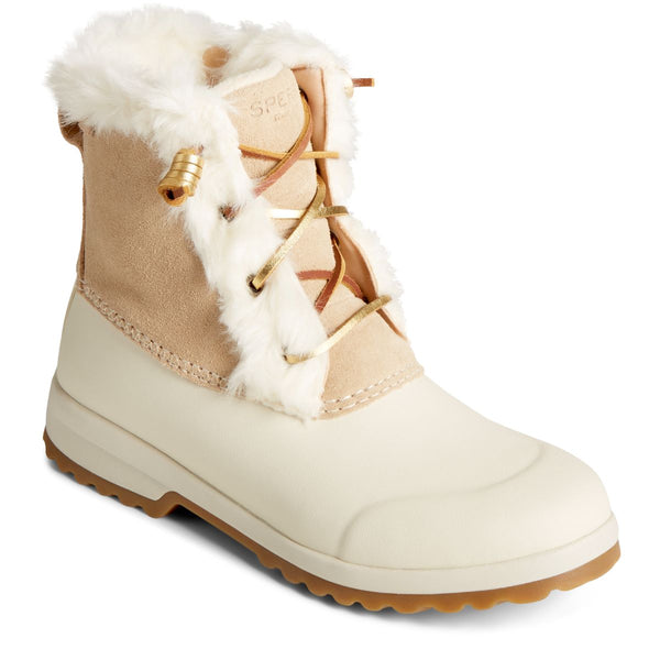 Sperry Women's Maritime Repel Winter Boot in Sand Winter Boots Sperry