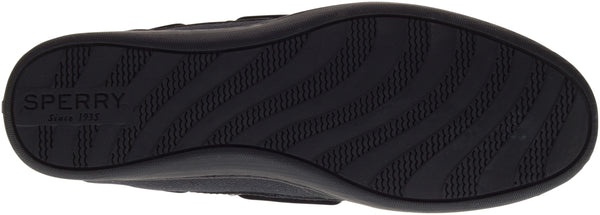 Sperry Women's Koifish in Black/Black Flats Sperry