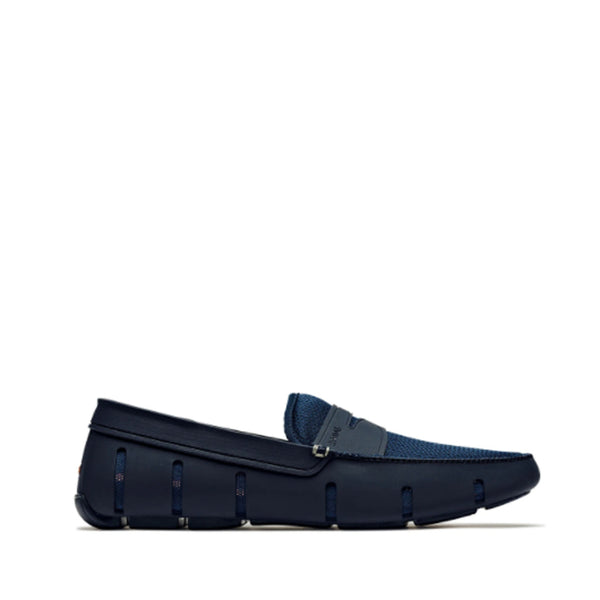 Swims Men's Penny Loafer in Navy Casual SWIMS 8