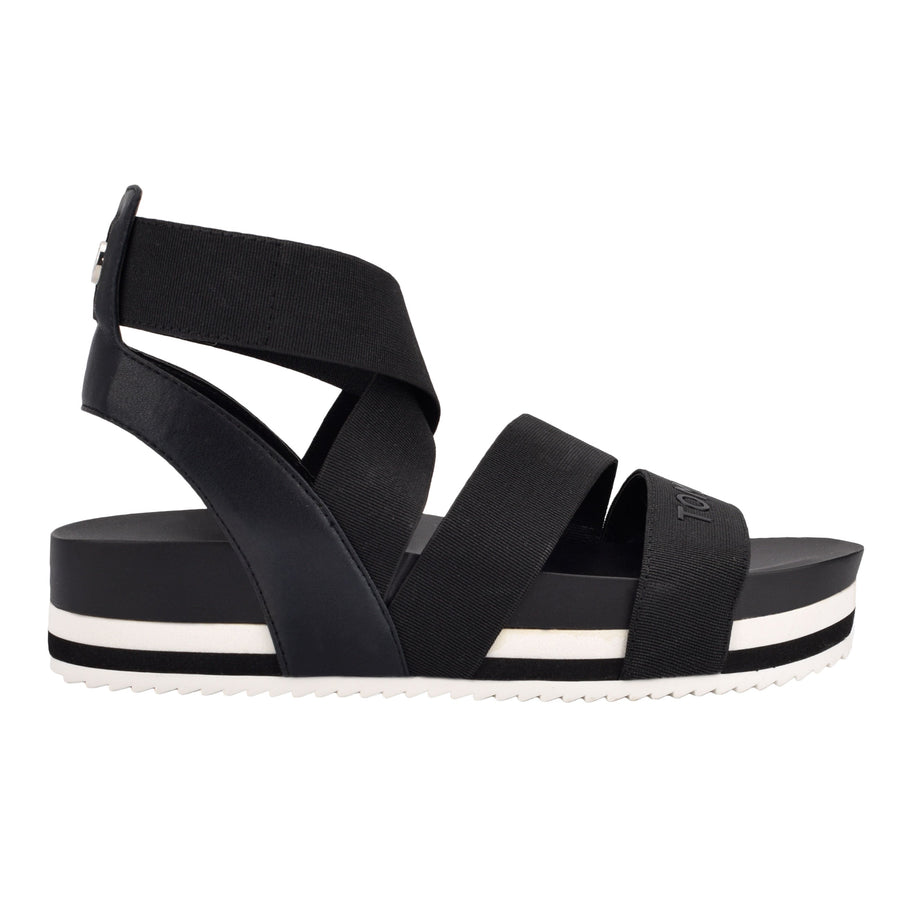 Tommy Women's Belgin in Black Sandals TOMMY WOMEN 6